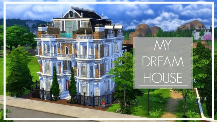 Most Inspiring My Dream House | The Sims 4 Speed Build - Youtube My Dream House Image Photo