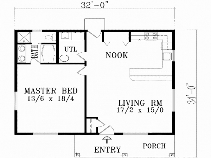 Most Inspiring Simple House Plans 2 Bedroom Lovely 2 Bedroom 1 Garage House Plans Simple House Plan With 2 Bedrooms And Garage Photo