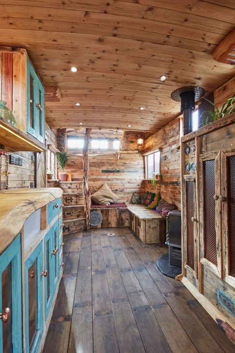 Most Inspiring This Old Horse Trailer Was Converted Into A Cozy And Rustic Tiny Backyard Shasta Tiny House Swoon Pic