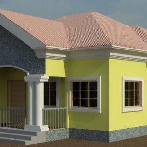 3 Bedroom Flat Design Plan In Nigeria