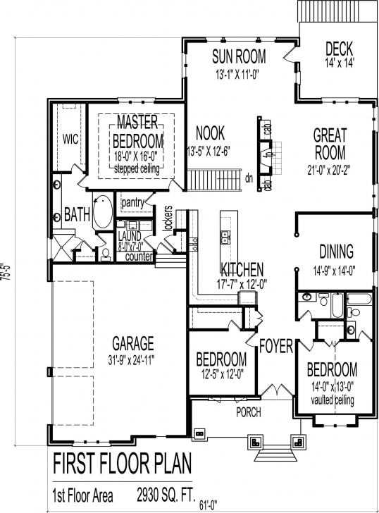 Must See 2 Bedroom Bungalow Floor Plan Plans 2018 With Attractive House Princess Residential Floor Plan Bungalow Picture