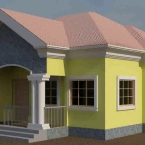 Three Bedroom Flat Plan In Nigeria