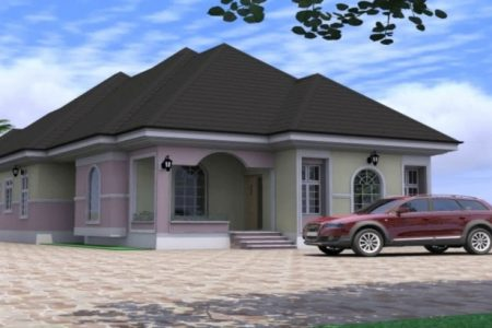 Four Bedroom Bungalow In Nigeria
