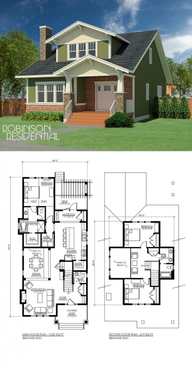 Must See 51 Best Craftsman Home Plans Images On Pinterest | Floor Plans 3 Good Bedrooms House Plan Soise Com Photo