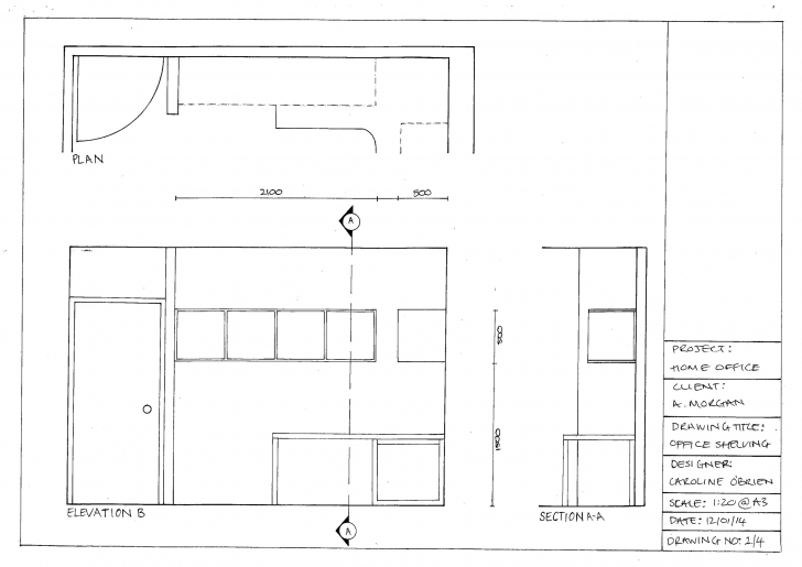 Must See Floor Plan – Co'b By Design Plan Elevation And Section Drawings Picture