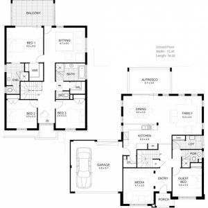 Double Storey House Plans Australia