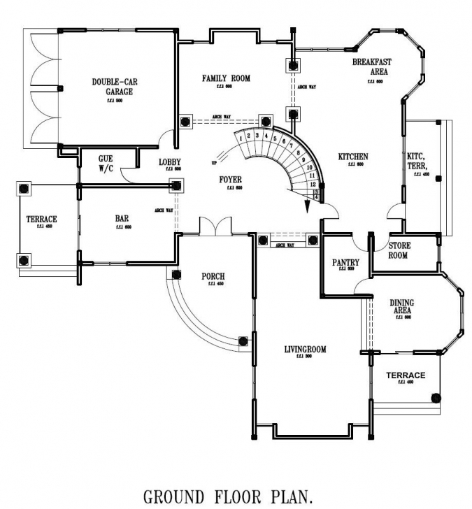 Must See House Ground Floor Plan Design - Vipp #30A7Cc3D56F1 Ghana House Floor Plans Photo