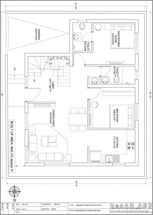 Must See House Plan Download 30 X 45 Duplex House Plans East Facing | Adhome 30*45 House Plan North Facing Image