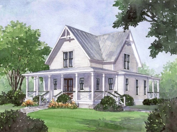 Must See House Plan Of The Month: Four Gables | Farmhouse Plans, Porch And House Modern Farmhouse Plans Southern Living Pic