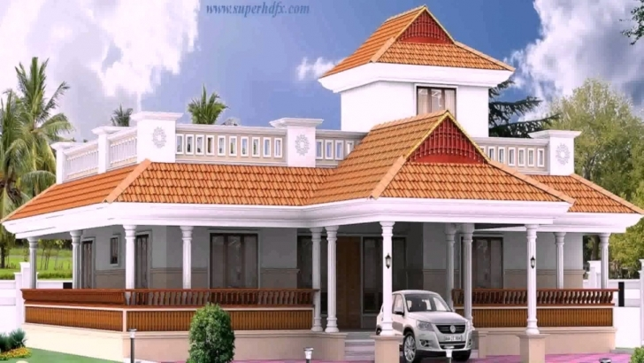 Must See Kerala Style 3 Bedroom House Plans Single Floor - Youtube Kerala 3 Room House Pic
