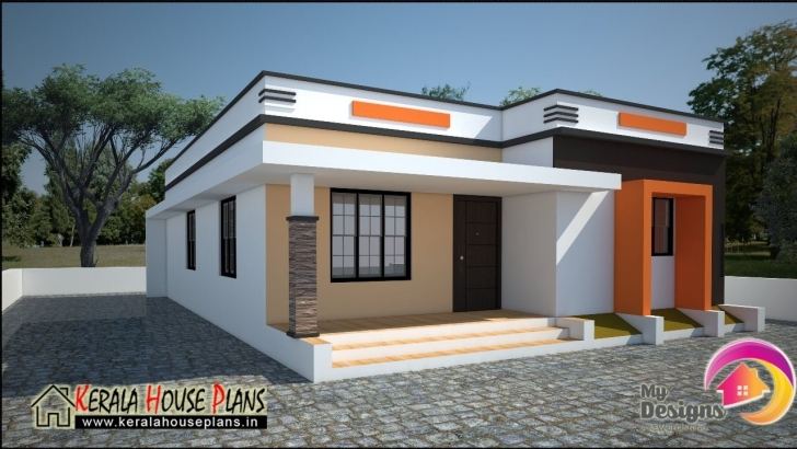 Must See Low Cost House In Kerala 668 Sqft | Kerala House Plans Designs Low Cost Kerala Housing Plans Image
