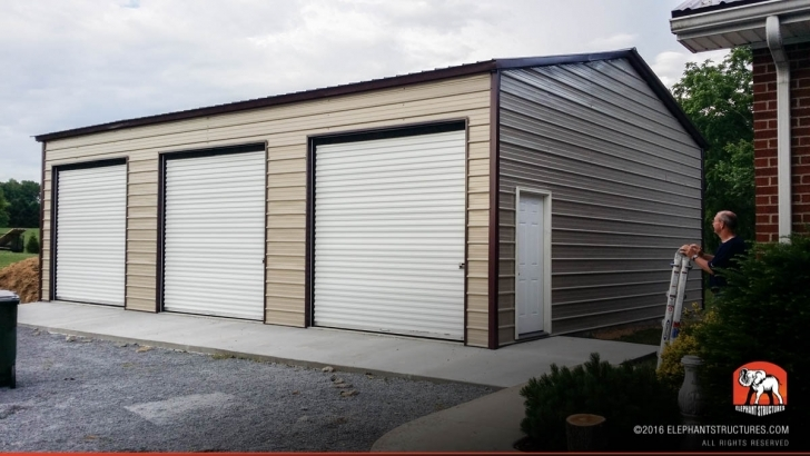 Must See Metal Garages For Sale, Order Customized Metal Garage And Kits Elephant Steel Garages Image