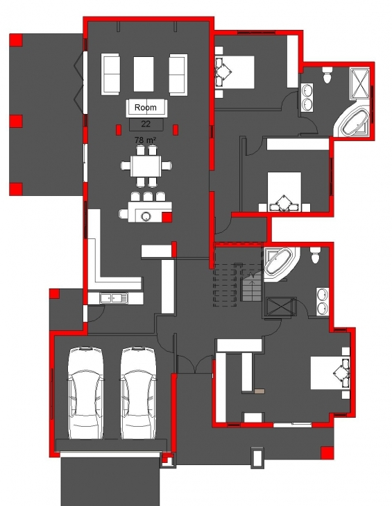Must See My House Plan Stylist Design 14 Mlb - Tiny House Bla House Plan Image