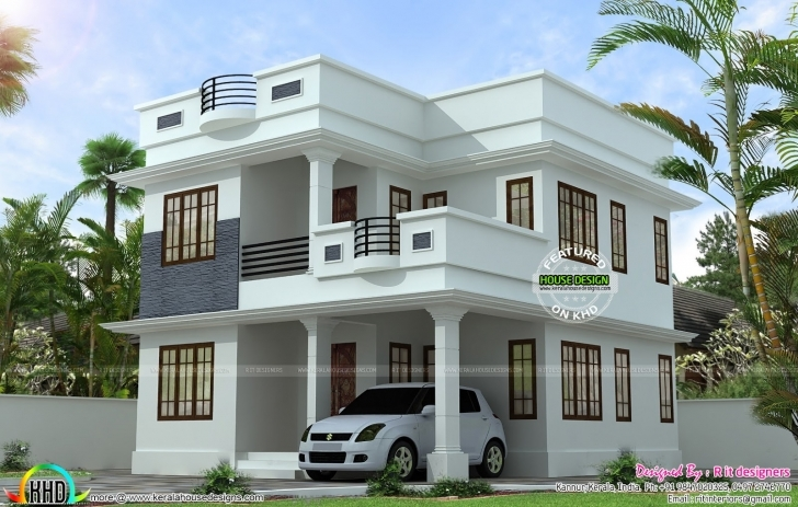 Must See Neat Simple Small House Plan Kerala Home Design Floor Plans Kerala Small House Design Pic