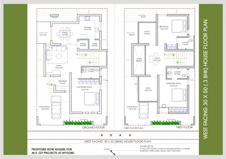 Must See West Face House Vastu Plans 30×40 House Plans East Facing X North 30 X 40 House Plans East Facing With Vastu Picture