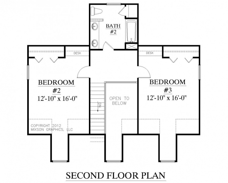 Outstanding 1 Story Home Floor Plans 2 Bedroom Simple 3 Bedroom House Floor Plans Single Story Photo