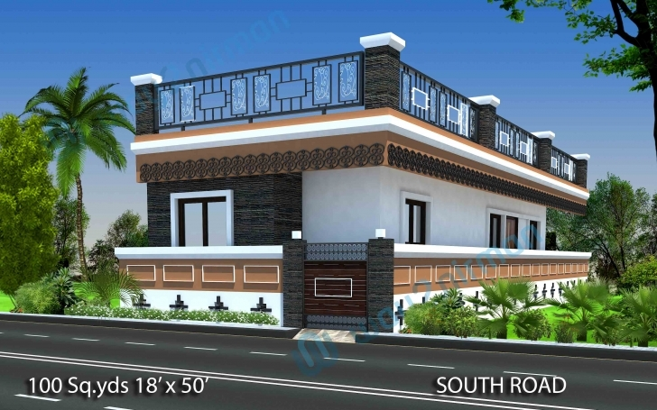 Outstanding 18×50 House Design – Home Photo Style House Design On 50*100 Photo