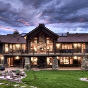 Luxury Mountain Ranch Home Plans