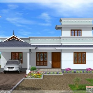 Kerala House Elevation Models