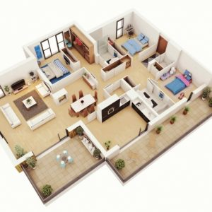 Simple Home Plans 3 Bedrooms