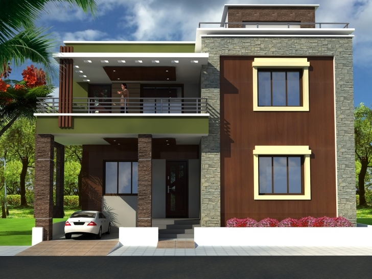 Outstanding Simple House Front View Design - Homes Floor Plans House Front Design Image Photo