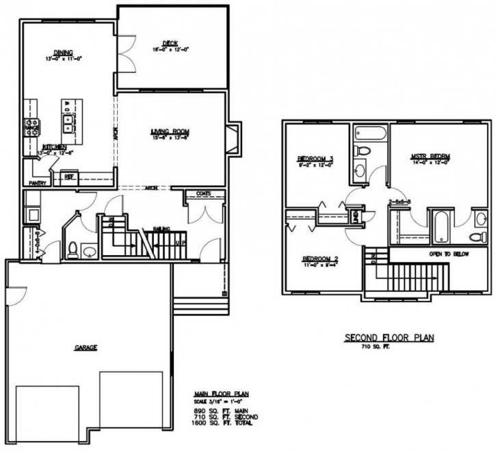 Picture of 1600 Sq Ft Ranch House Plans - Home-Improvements 1500 Sq Ft House Plans 2 Story Photo