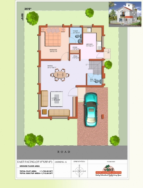 Picture of 20 40 Duplex House Plan 30 South Facing House Vastu Plan - Bibserver 20*50 House Plan South Facing Image