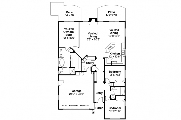 Picture of 35 Ft Wide House Plans | Daily Trends Interior Design Magazine 22 X 40 Ft House Plans Photo