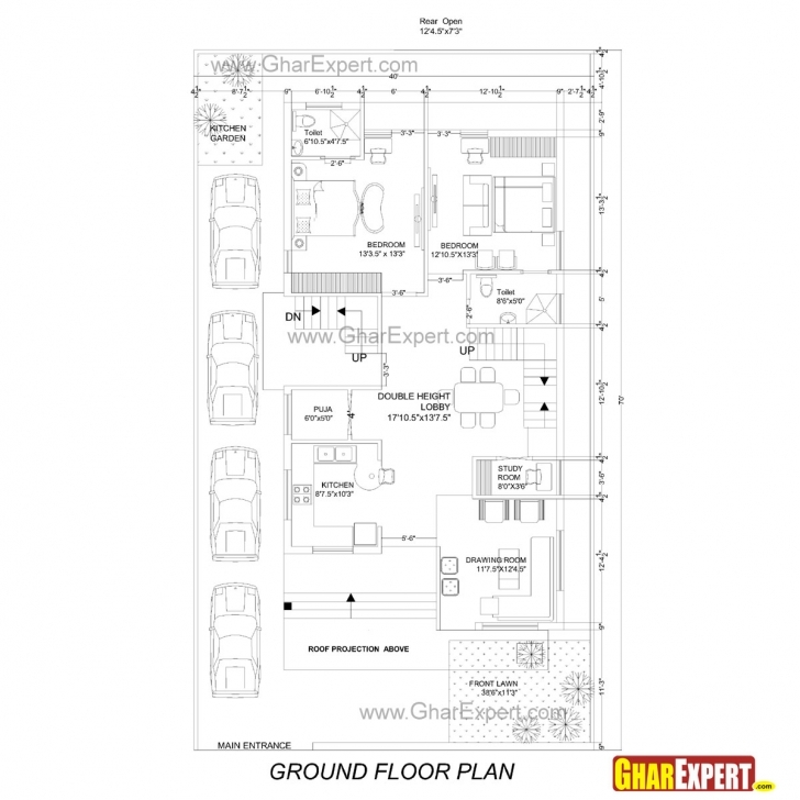 Picture of 98+ Home Design 15 X 50 - Lovely Idea 22 15X50 House Plans Duplex Design Of House On Plot Size 15X50 Image
