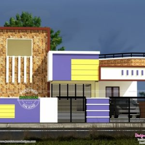 South Indian Small House Images