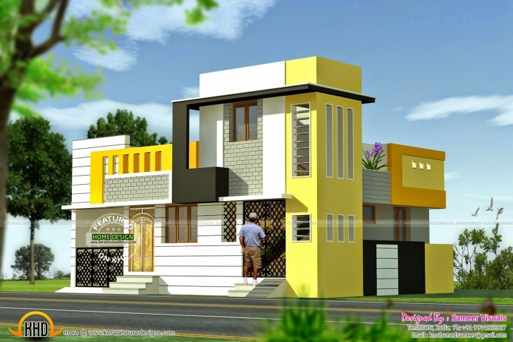 Picture of Duplex House Plans Elevation Photos Indian Style | The Base Wallpaper Front Elevation Of Duplex House In 700 Sq Ft Photo