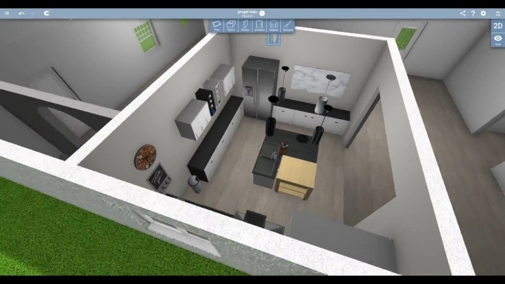 Picture of Home Design 3D Speed Design - Kitchen - Youtube Home Design 3D Pic