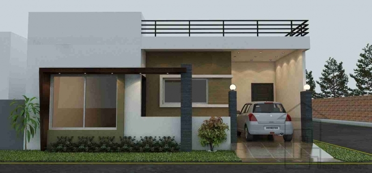 Picture of Indian House Front Boundary Wall Designs - Google Search | Elevation Single Floor Home Front Design In Pakistan Pic