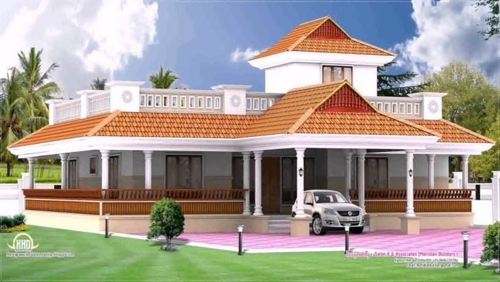 Picture of Kerala Style House Elevation Single Storey - Youtube Kerala Style Single Floor Home Elevation Pic