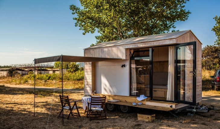 Picture of Koleliba - Tiny Vacation House On Wheels Koleliba Tiny House Swoon Pic