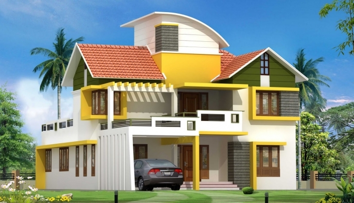 Picture of Latest Kerala House Plan Elevation - Building Plans Online | #30968 Pergola Design House In Kerala Photo