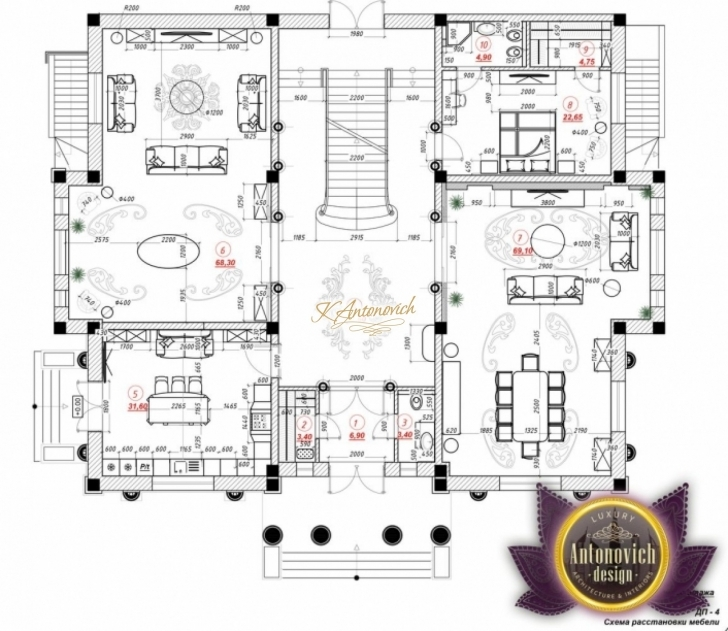 Picture of Luxury House Plan Nigeria Nigeria Architectural Floor Plan Design Pic