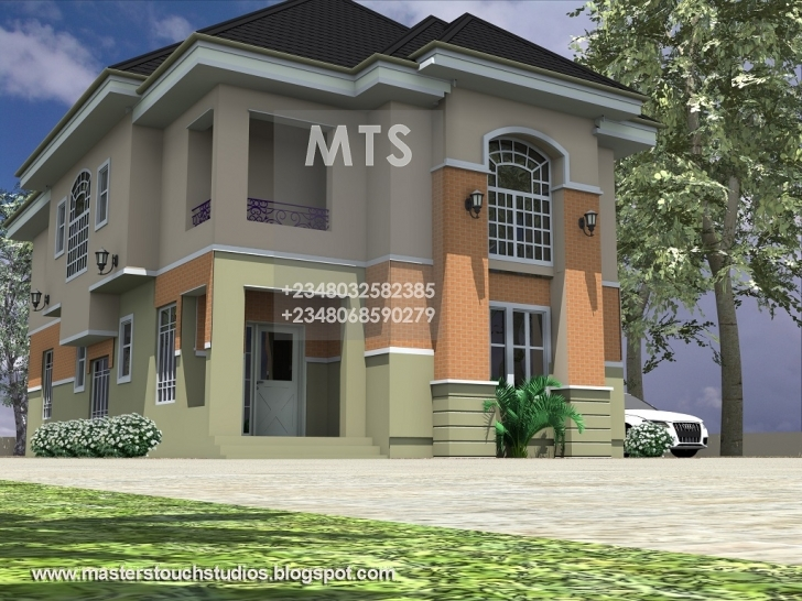 Picture of Mrs Ifeoma 4 Bedroom Duplex 4 Bedroom Duplex House Plans In Nigeria Picture