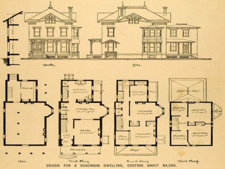 Picture of Old Victorian House Plans Queen Anne Vintage Lrg Flo With Porches House Plans For Sale Uk Photo