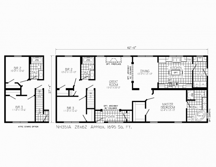 Picture of Spec House Plans Inspirational Spec House Plans Best 15 X 45 House 15 * 45 House Plan Picture