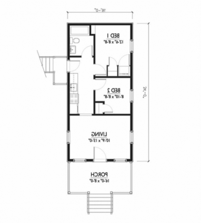 Picture of The Awesome House Plan Design 15 X 45 Regarding Invigorate | House 15 X 45 House Plan Photo