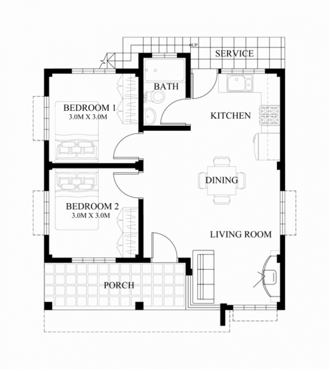 Picture of Three Bedroom Floor Plan House Design Luxury 3 Bedroom Bungalow 3 Bedroom Bungalow Floor Plan Design Photo