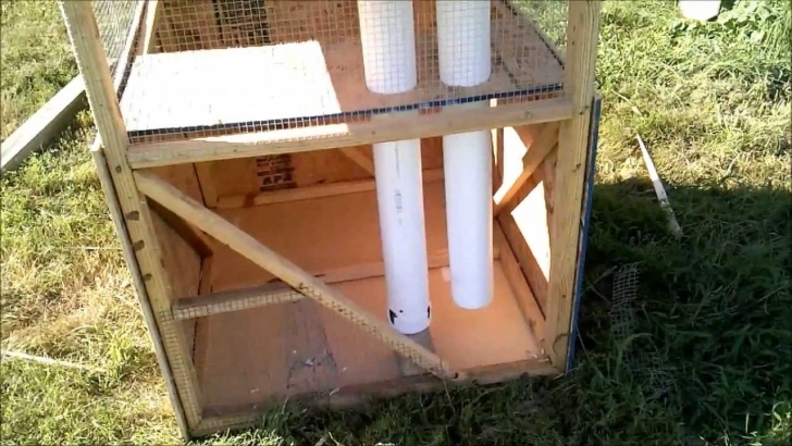 Picture of Tour Of A Miniature Johnny House, Quail Pen - Youtube Quail Housing Plans Image