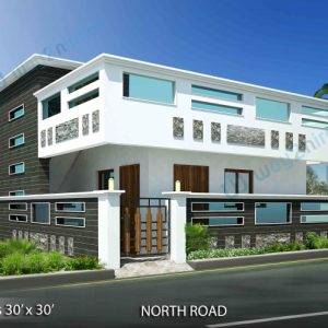 House Front Elevation Designs For Single Floor North Facing