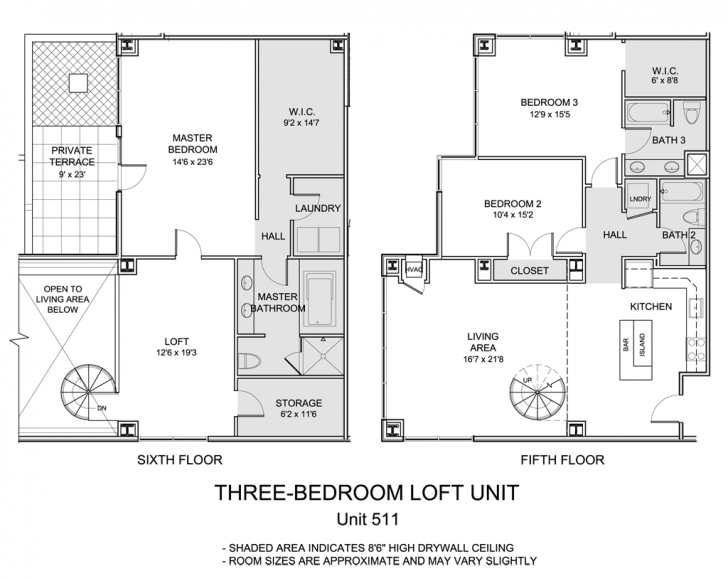 Popular 1500 Condominium | Live Boldly. Live Here. 1500 Sq Ft House Plans With Loft Picture