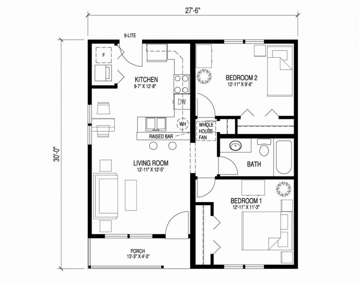 Popular 20 Inspirational 3 Bedroom Bungalow House Plans In Nigeria 15 ×15 Floor Plan Nairaland Pic