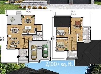 20 Feet Of Stylish House Full Hd Photo