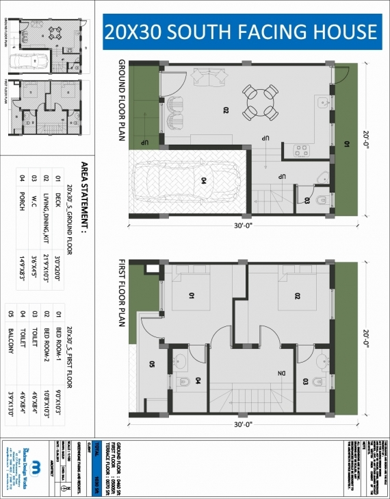 Popular 20 X 30 Square Feet House Plan Awesome South Facing House Floor 20 35 House Plan South Facing Pic