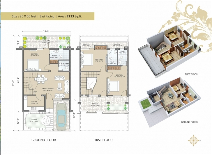Popular 25 50 House Plans East Facing Picture Plan Villa 25 50 E Anukrriti House Photo 25/50 Image
