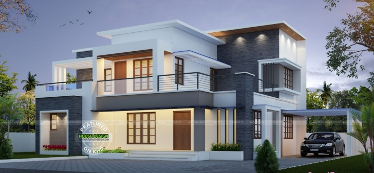 Popular Best Contemporary Inspired Kerala Home Design Plans | Homes In Kerala Home Design Picture